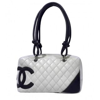 Chanel Cambon Bowler Quilted Leather Medium Bag