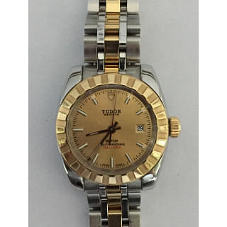 Tudor Lady Steel Gold