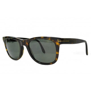 Tom Ford Leo TF336 Havana 56R Polarised Sunglasses