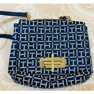 Tommy Hilfiger Turn Lock Crossbody Bag