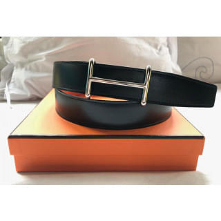 Hermes H Buckle Reversibel Belt
