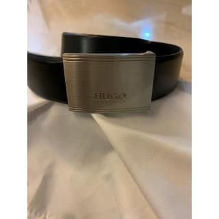 Hugo Boss Ektoro Logo Plaque Belt