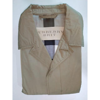Burberry Brit Trench Coat Grey
