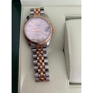 Rolex Lady- Datejust Steel and Rose Gold Diamond Dial