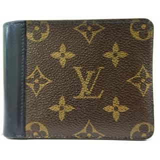 Louis Vuitton Gaspar Monogram Macassar Canvas Wallet