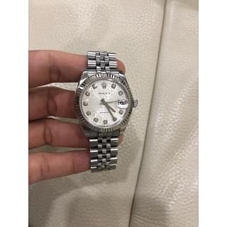 Rolex Datejust 31 MM Oystersteel and White Gold Watch