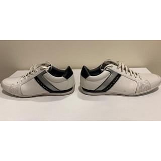 Hugo Boss Mens Saturn Leather Low-Top Sneakers