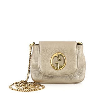 Gucci 1973 Small Leather Crossbody Bag