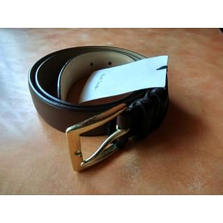 Paul Smith Mens Spanish Brown Leather Belt