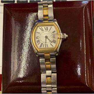 Cartier Roadster W62026y4 18K Gold and Stainless Steel Ladies Watch