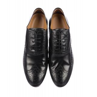 Louis Vuitton Wing Tip Dress Shoes