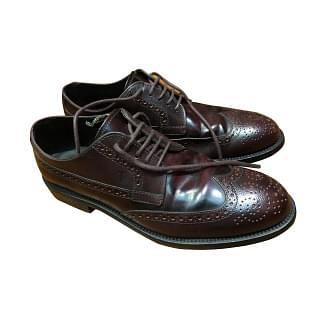 Tods Lace up Leather Shoes