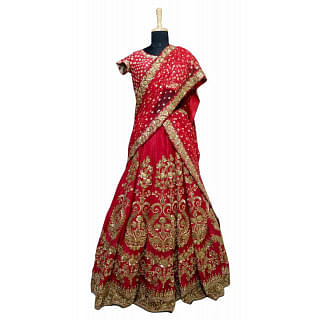 Sabyasachi Red Wedding Lehenga