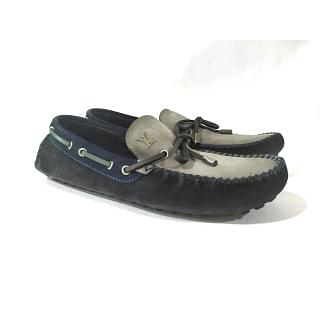 Louis Vuitton Leather Driving Moccasin Loafers