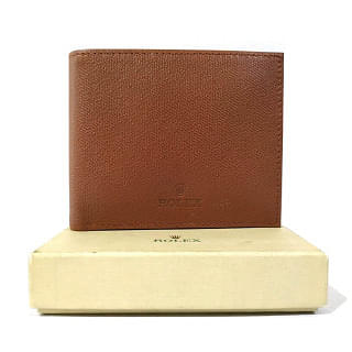 Rolex Tan Mens Wallet