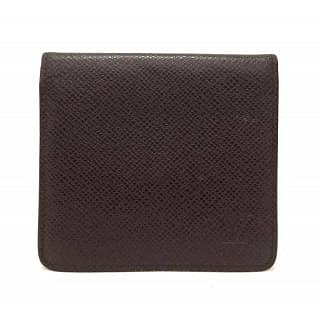Louis Vuitton Monogram Taiga Leather Bifold  Logo Wallet