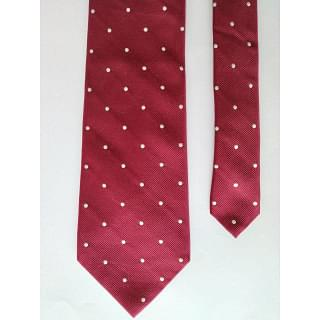 Banana Republic Red Dot Print Tie