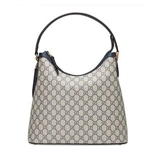 Gucci GG Supreme Hobo Shoulder Bag