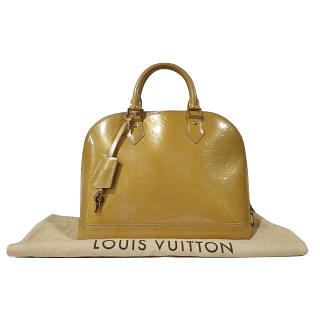 Louis Vuitton Monogram Vernis Alma PM Bag