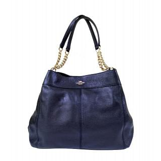Coach Pebble Leather Lexy Shoulder Bag