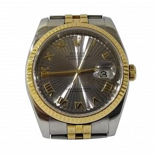 Rolex 116233 DATE JUST 36 TWO-TONE STEEL ROMAN DIAL