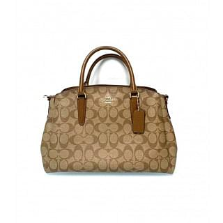 Coach F29683 Sage Carryall Signature Satchel