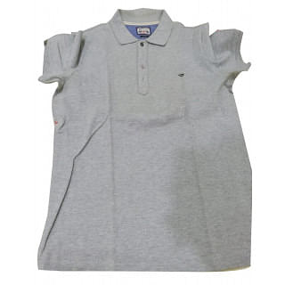 Diesel & Co Gray Polo Shirt