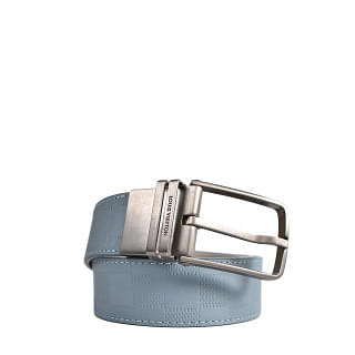 Louis Vuitton Damier Print Belt in Blue