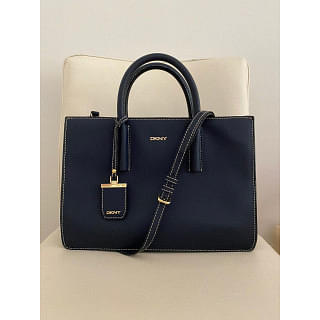 DKNY Georgia Leather Square Tote