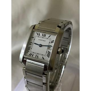 Cartier Tank Francaise 2465 Stainless Steel  Watch