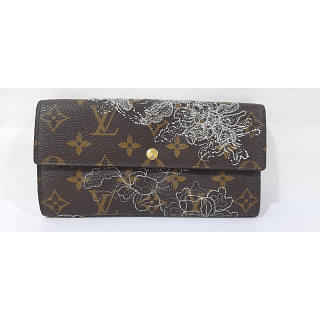 Louis Vuitton Gold Dentelle Sarah Wallet