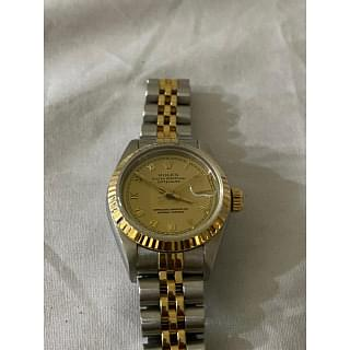 Rolex Ladies Datejust 69173 Roman Dial Watch
