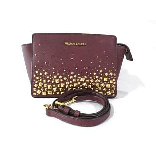 Michael Kors Selma Stud Medium Crossbody Bag