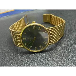 Rolex Geneve Calibre 18 carat Gold Watch