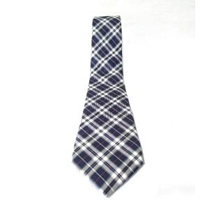 Respectnero Check Pattern Tie