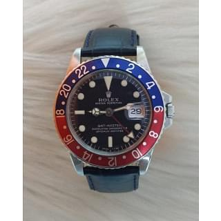 Rolex GMT-Master Pepsi Bezel 40 mm Watch