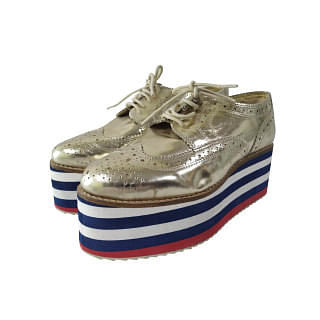 Kurt Geiger Golden shoes