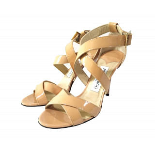 Jimmy Choo Patent Leather Strappy Sandals