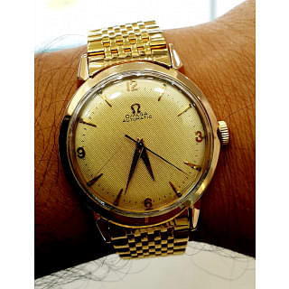 Omega 18K Solid Gold 36mm Automatic