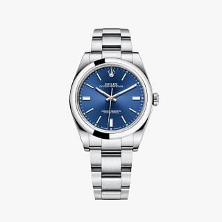 Rolex Oyster Perpetual 39 Automatic Blue Dial
