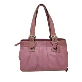 Coach East West Soho Pleated Buckle Straps Tote