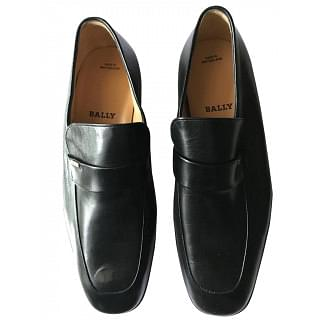 Bally Black Leather Loafer