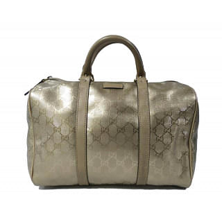 Gucci Metallic Joy Boston Bag