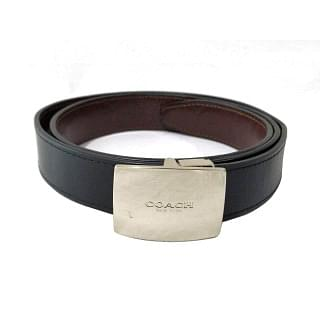 Coach Reversible Leather Belt