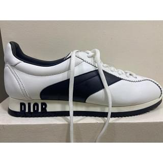 Dior Diorun Womens Leather Sneakers