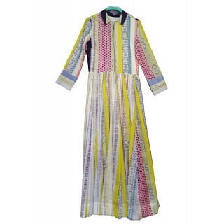 Ritu Kumar Tunic - multi print Dress