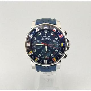 Corum Blue Colomb Admiral's Cup Navy Limited Edition Of 999 Chronograph 44MM