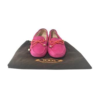 Tods Suede Knot Women Loafer