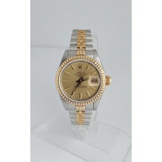Rolex Lady-Datejust 26 mm Gold & Stainless Steel Watch + 2 Year Luxepolis Service Warranty