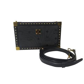 MCM Visetos Studded Shoulder Clutch/Bag